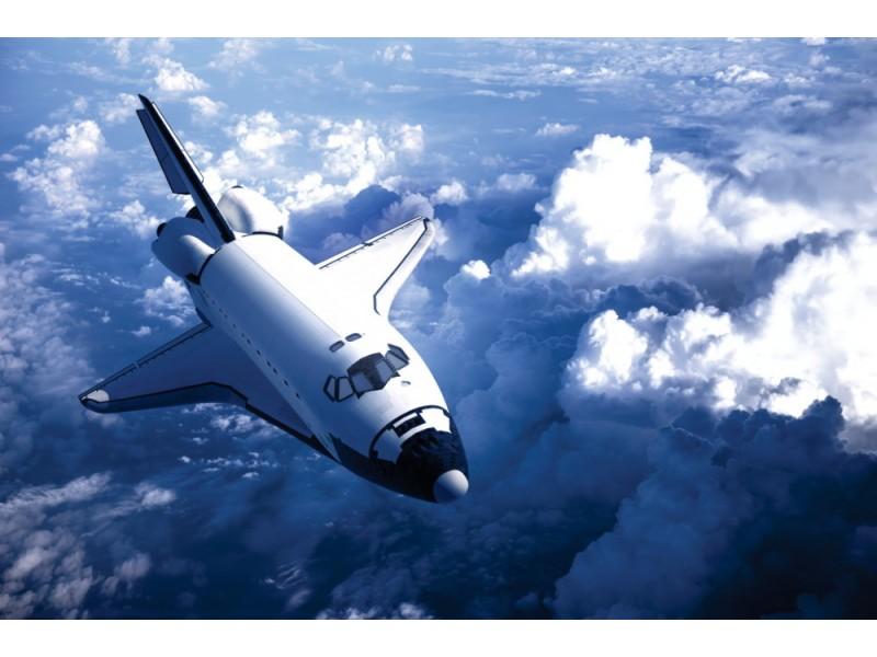 Fototapet rymdfärja