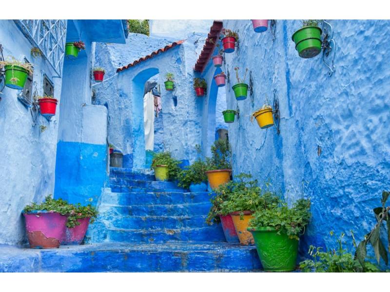 Fototapet Chefchaouen In Morocco