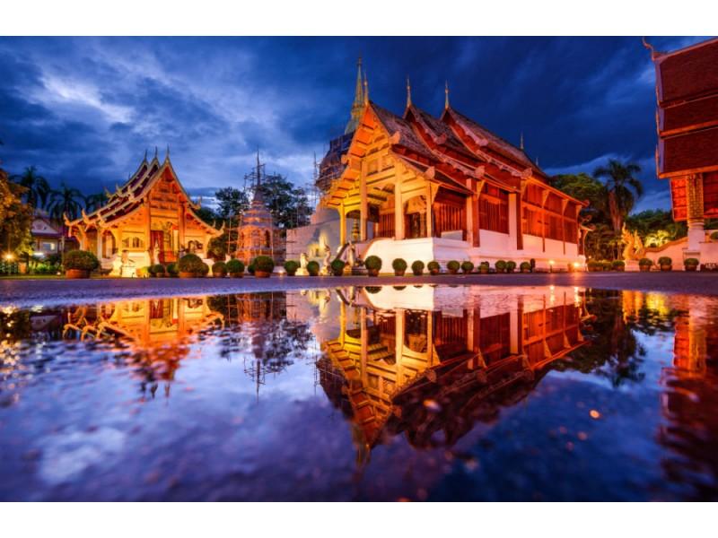 Fototapet Chiang Mai Thailand