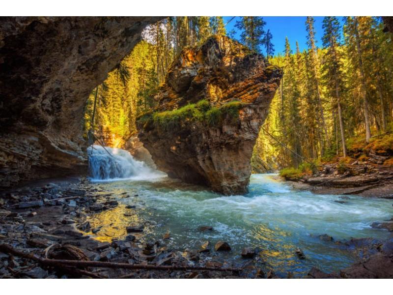 Fototapet Johnston Creek Canada