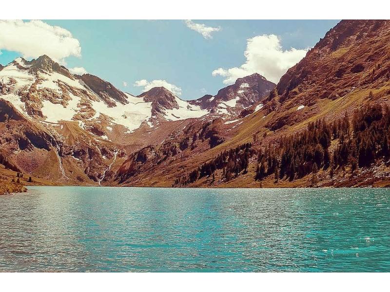 Fototapet Siberian Lake