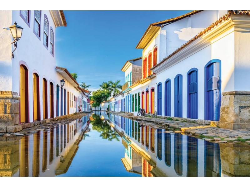 Fototapet i historiskt centrum i Rio de Janeiro (121703866)