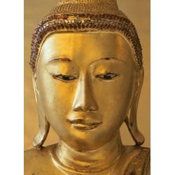 FOTOTAPET GYLLENE BUDDHA
