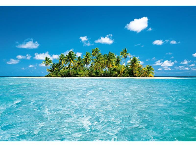FOTOTAPET MALDIVISKA PARADISET