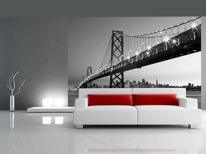 FOTOTAPET SAN FRANCISCO SILHUETT