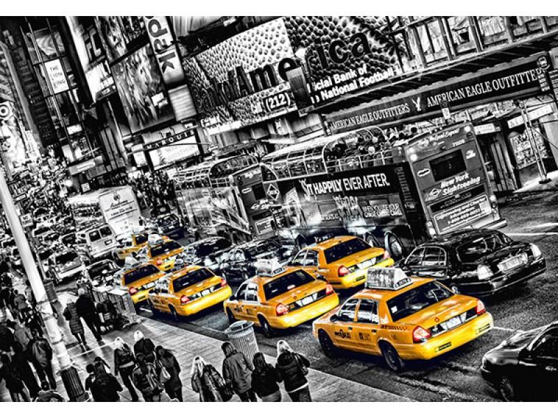 FOTOTAPET TAXIKÖN I NEW YORK